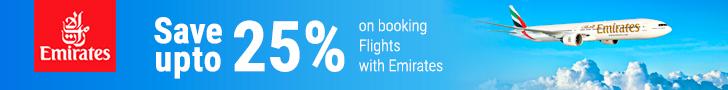 Emirates.com Voucher & Discount Codes